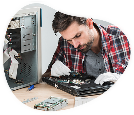We repair Mac, Laptop, Mobile device and more, straight at your door-step.